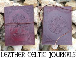 Leather Celtic Journals