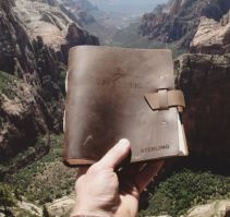 Engravable Leather Journals